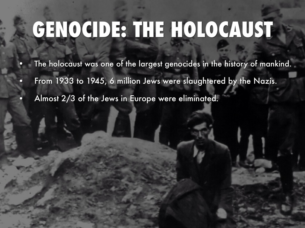 a reflection of the horrors of the holocaust from 1933 to 1945