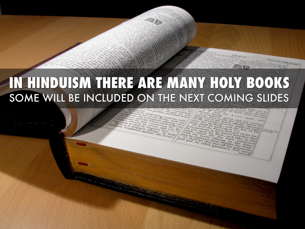 hinduism and holy books