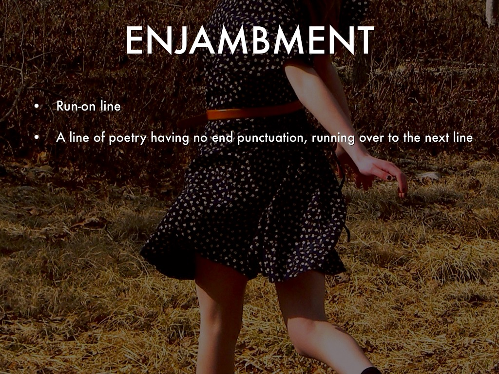 Poetry Terms By Kathy Ferrier
