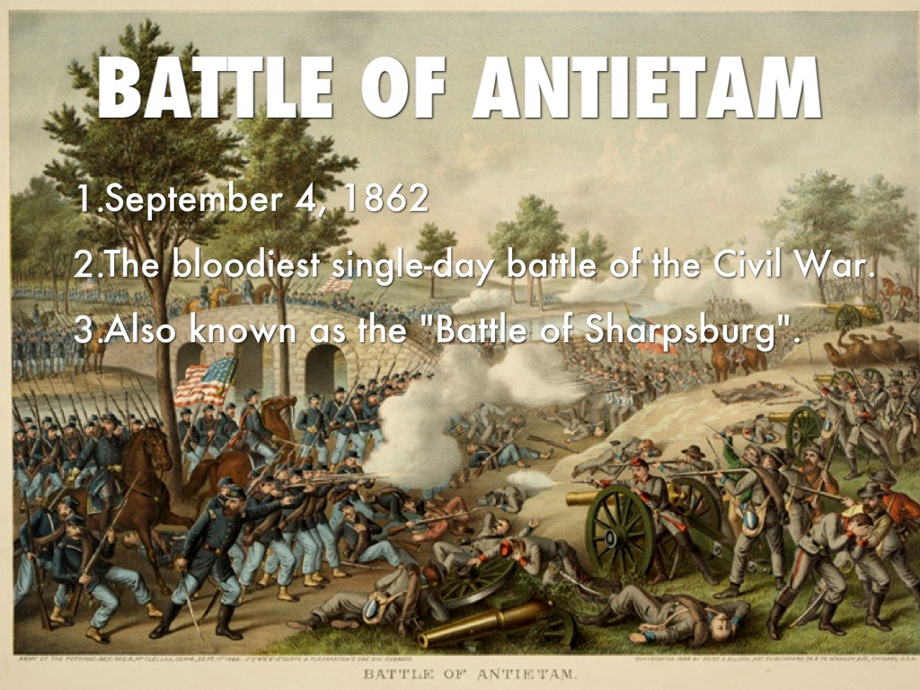 essay on the battle of antietam Excerpted and transcribed from an essay entitled notes on antietam there was to be the beginning of the battle, and there i should be needed first.