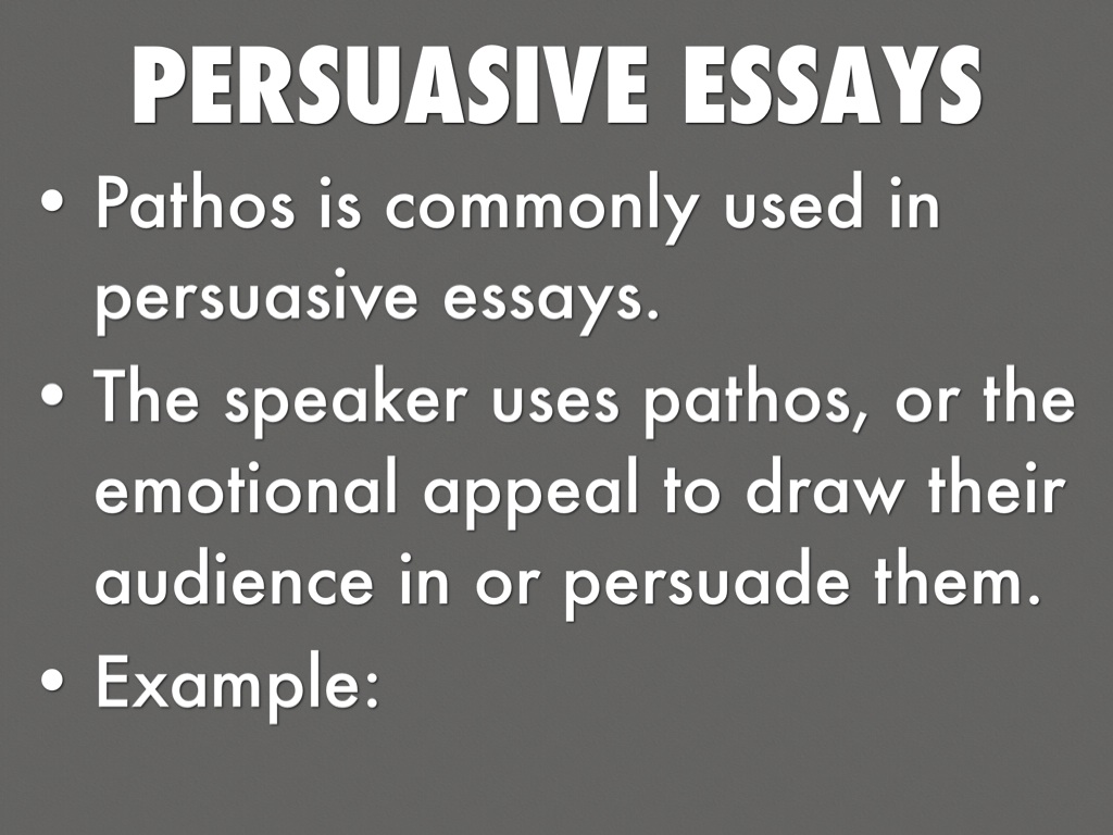 pathos attraction essay or dissertation examples