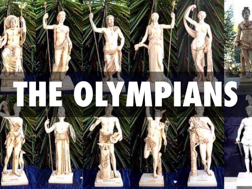 the 12 olympians by jordan kowalski