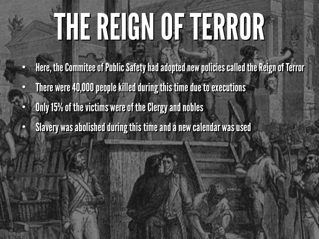 the reign of terror was it A presentation by cameron brungardt created with haiku deck, free presentation software that is simple, beautiful, and fun.