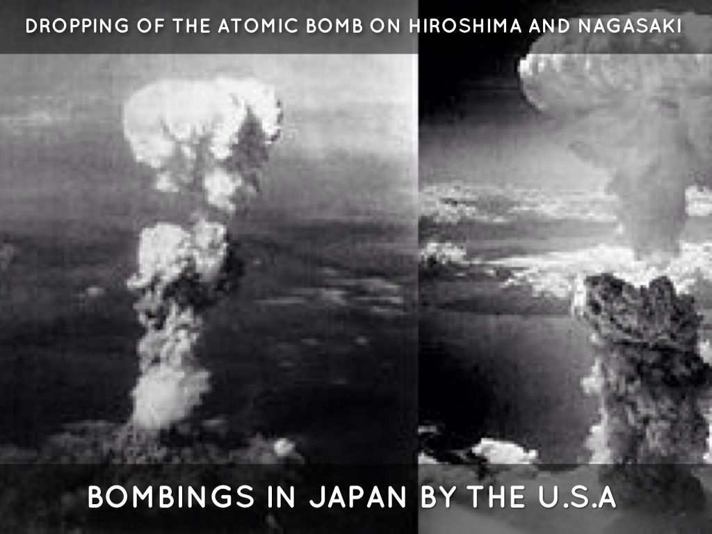an analysis of the decision and consequence of dropping the atomic bombs on hiroshima and nagasaki President truman decided to drop atomic bombs on hiroshima and nagasaki hiroshima-nagasaki: entering into the atomic decision to drop atomic bombs.