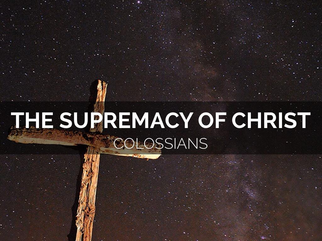 Colossians 8 By Scott Cappleman
