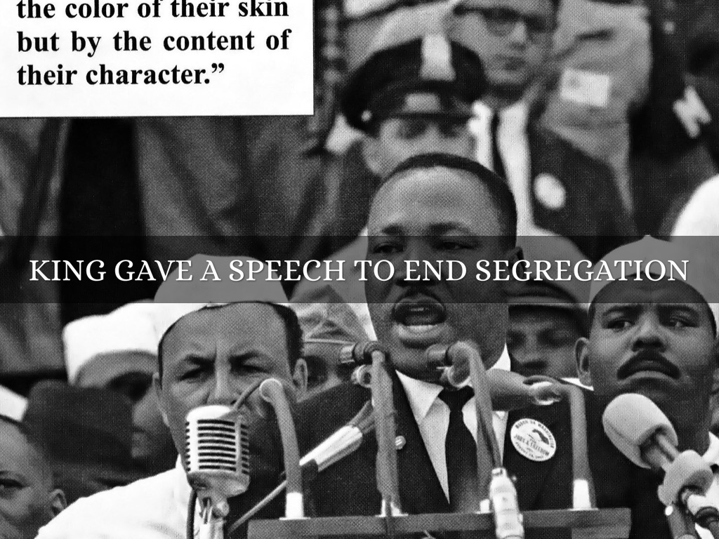"thesis statement for martin luther king jr Dr martin luther king, jr ""i have a dream that one day this nation will rise up and live out the true meaning of its creed: 'we hold these truths to be self."