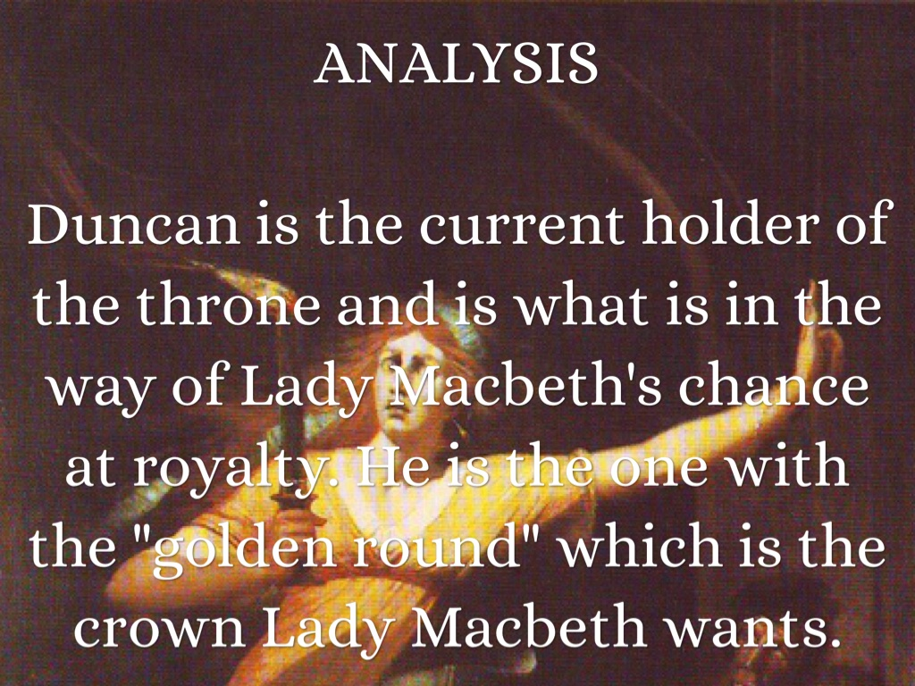 an analysis of the character of macbeth in shakespeares macbeth