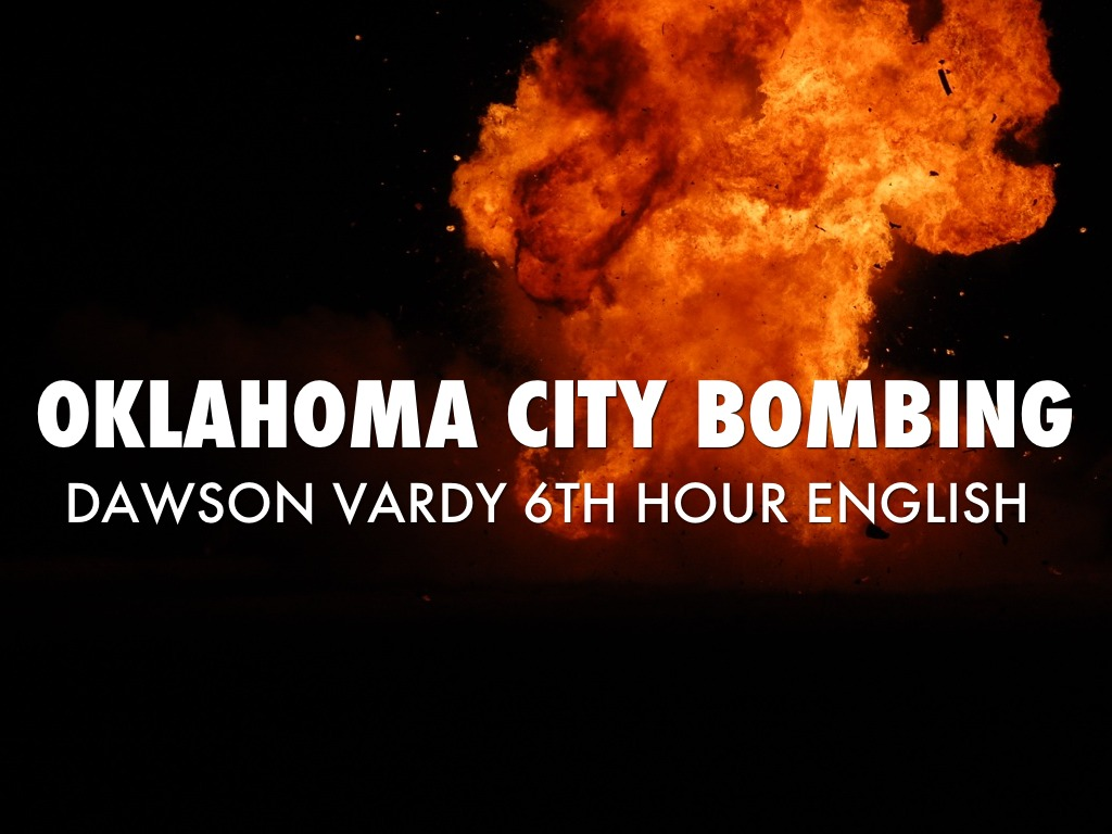 outline of the oklahoma city bombing A brief overview of the official story of the oklahoma city bombing:  about 90  minutes later, mcveigh was stopped by an oklahoma state trooper for driving a.