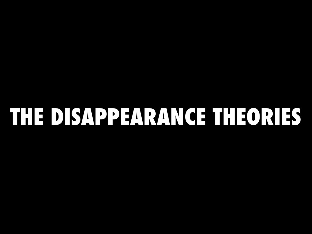 theories of the disappearance of queen