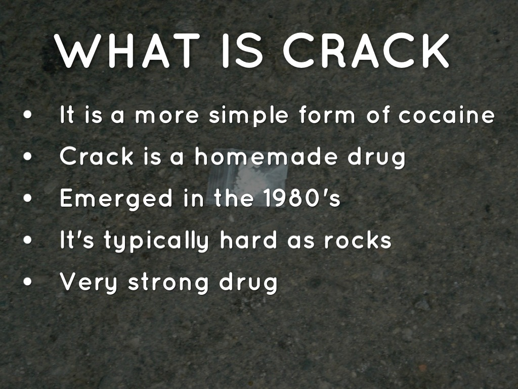What is crack