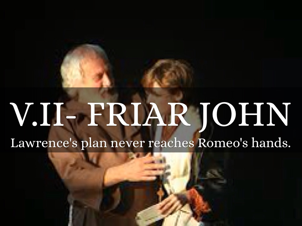 the involvement of friar lawrence the capulet family and the prince with the death of the lovers in  Her personal history outside of the capulet estate is unknown,  she is like family to the capulets  nurse (romeo and juliet.