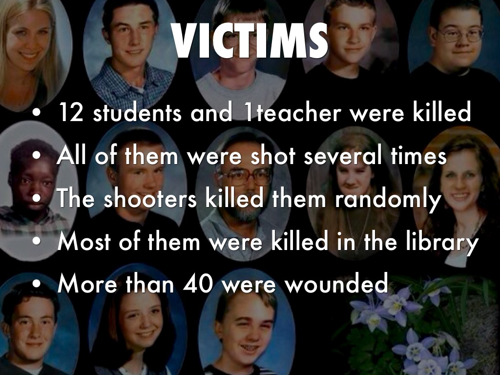 Case Study 9: The Shootings at the Columbine High School ...