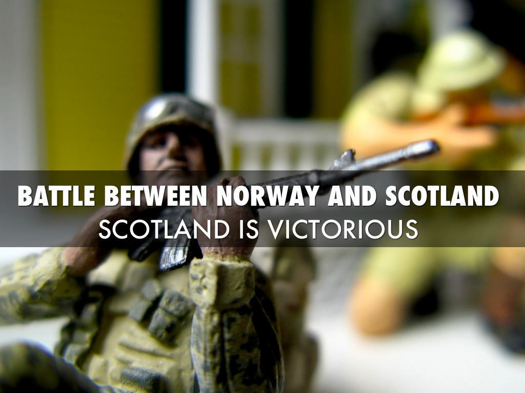 the battle between king duncan of scotland and macdonwald of norway in the play macbeth To start off, a battle between the thane of cawdor and the king of norway is going on, macdonwald turns out to be a traitor because of macbeth and banquo the battle.