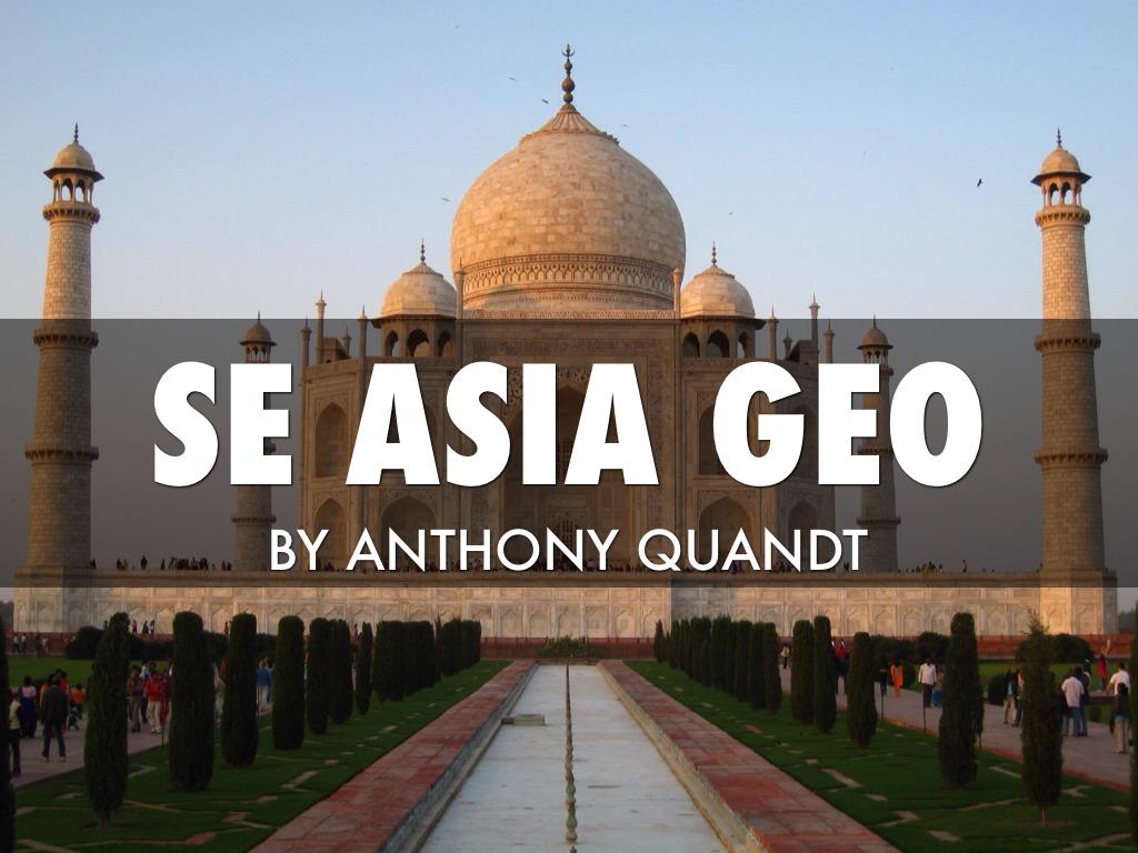 Geo Features SE Asia