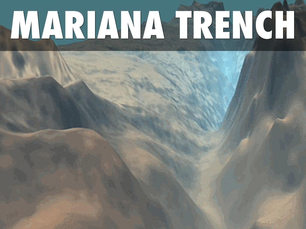 Mariana Trench Floor