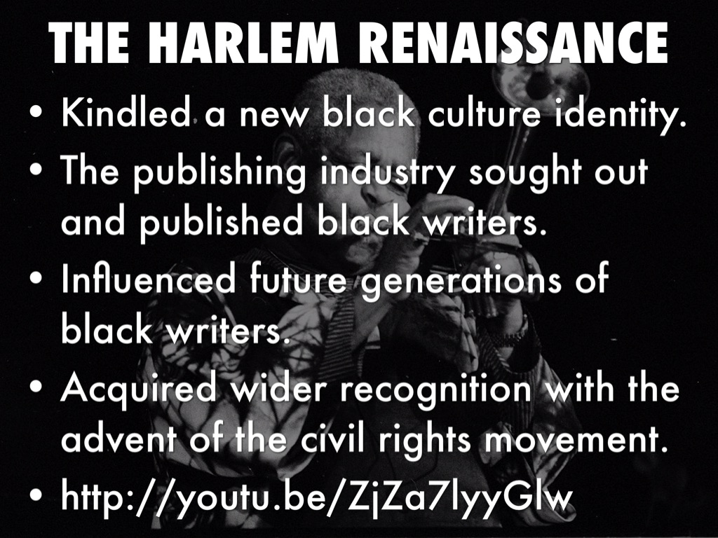 the harlem renaissance a black cultural