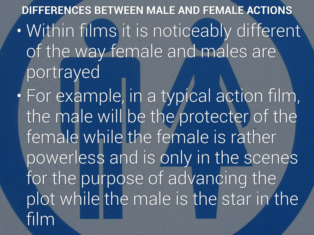 """the differences between males and females The surprising but curiously logical differences between male and """"female serial killers gather and male serial """"it struck me that women would."""