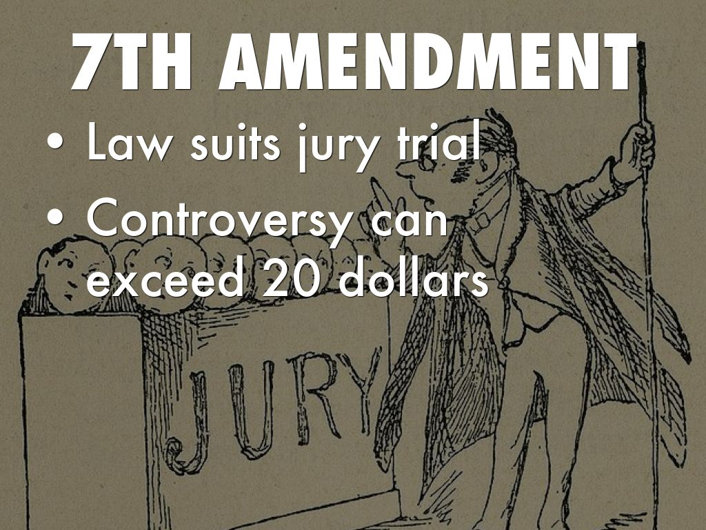 7th Amendment Clipart