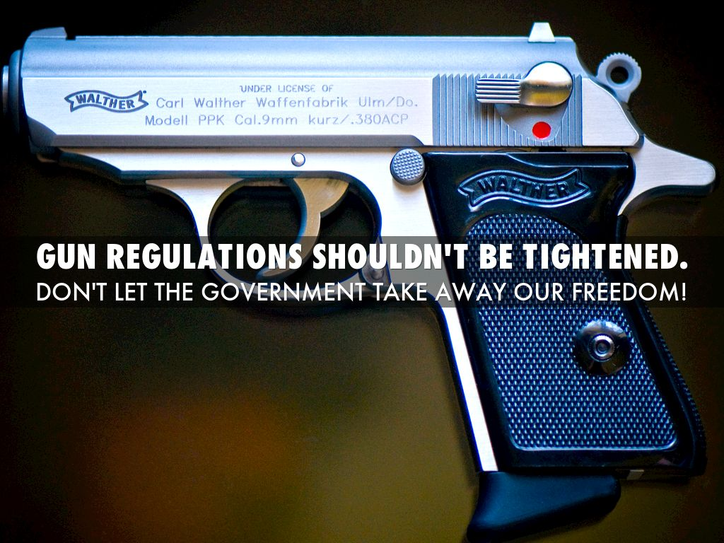 the necessity of gun regulations By bank miller and ben kurataconsidering the myriad current requirements and budget constraints, law enforcement firearms trainers may find their jobs.