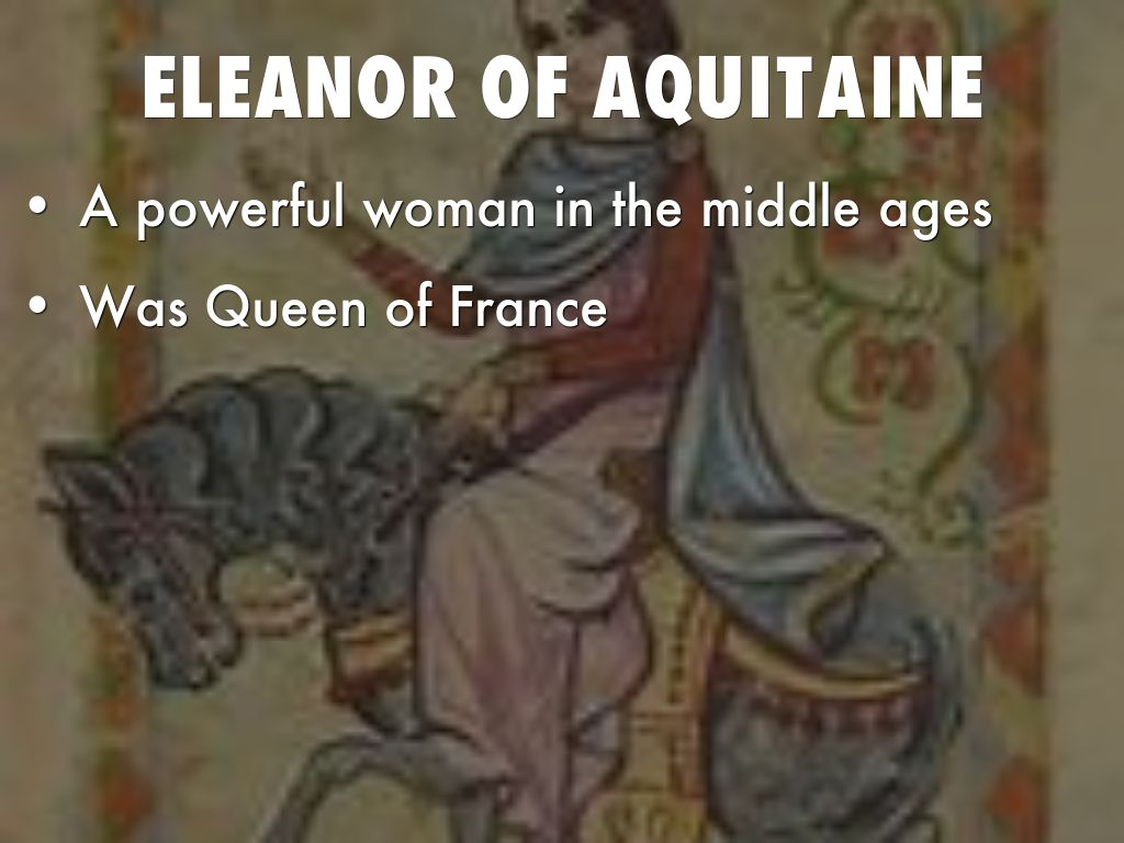 eleanor aquitaine essay Eleanor of aquitaine was both the queen of france to louis the seventh and queen of england to henry the second raised in one of europe's most cultured courts and given an excellent education, she later became an important patron of poets and writersat age 15 she married the future louis vii of france, still.