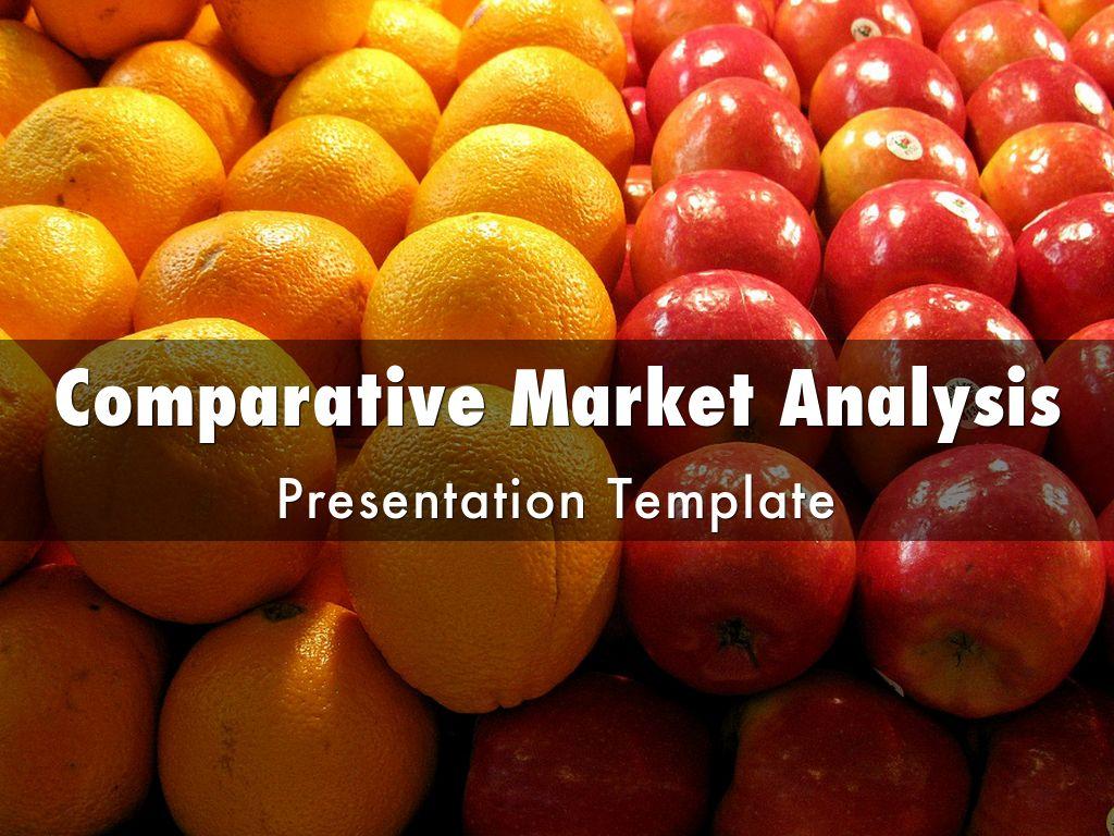 Comparative Market Analysis CMA Presentation Template