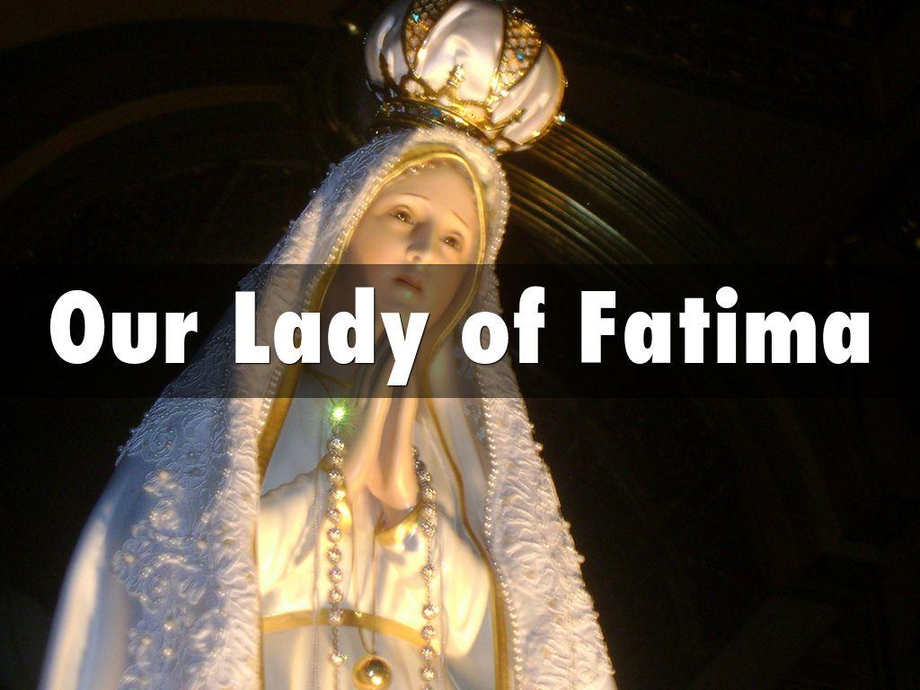 Our Lady Of Fatima By Maureen Rotramel