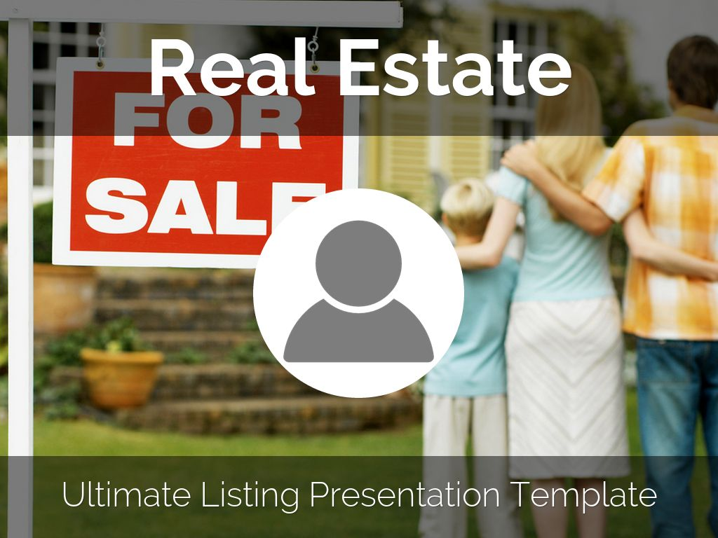 Real Estate Listing Presentation Template By Reusable - Listing presentation template