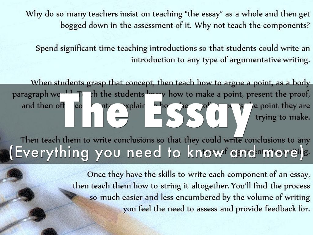 teaching how to write essay conclusions