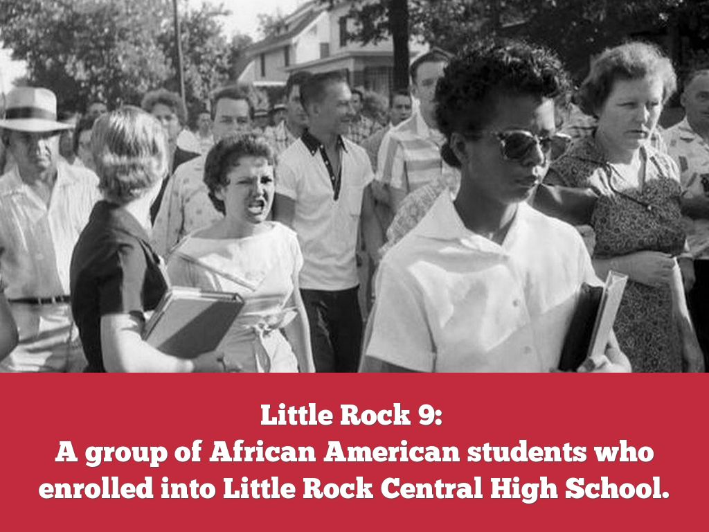 little nine rock a youth group of the civil rights movement