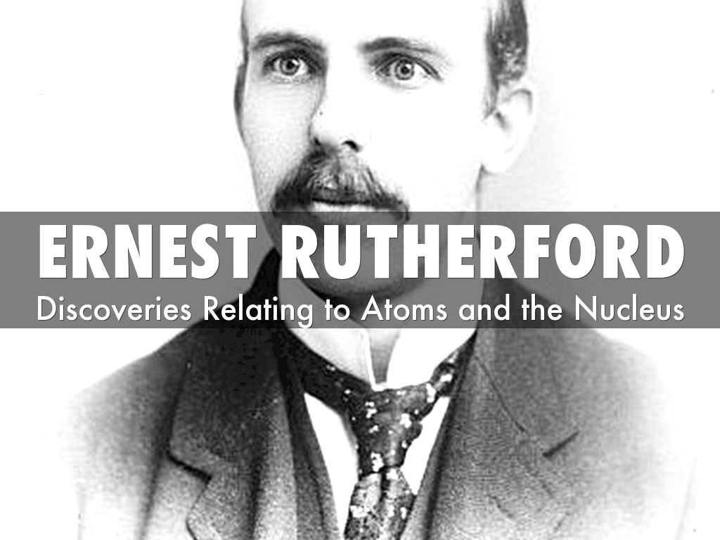 Ernest Rutherford by elizabethhickey