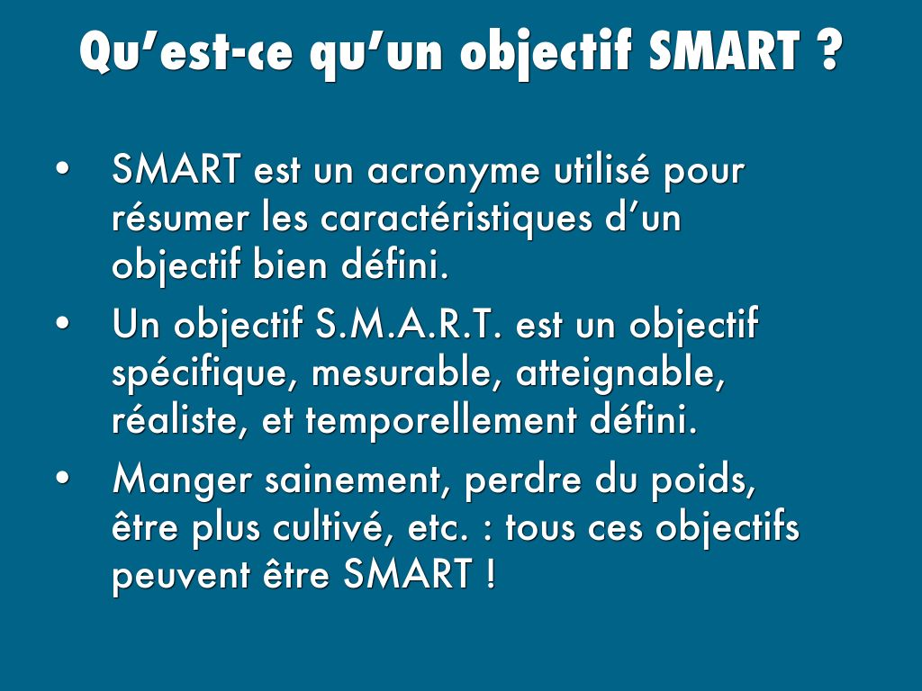 La Methode Smart By Wearegoalmap