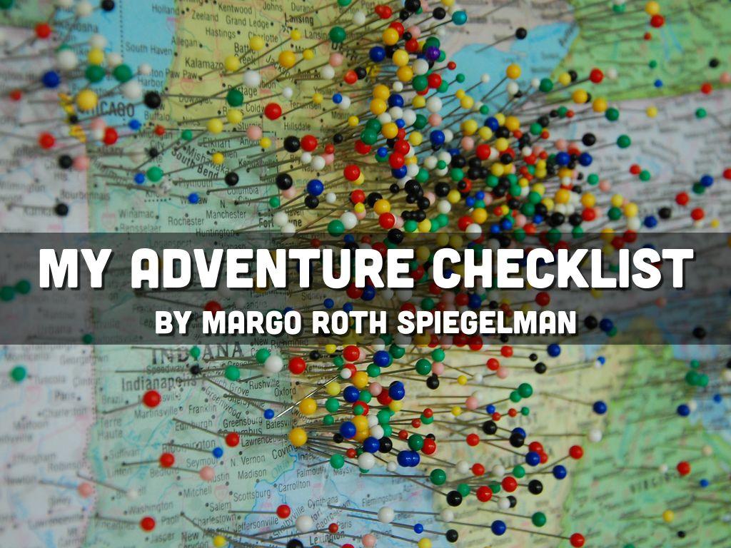 My Adventure Checklist