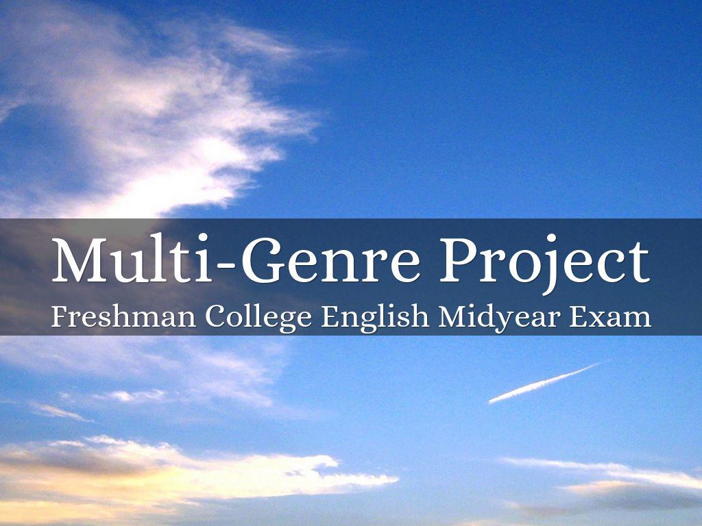 multigenre project