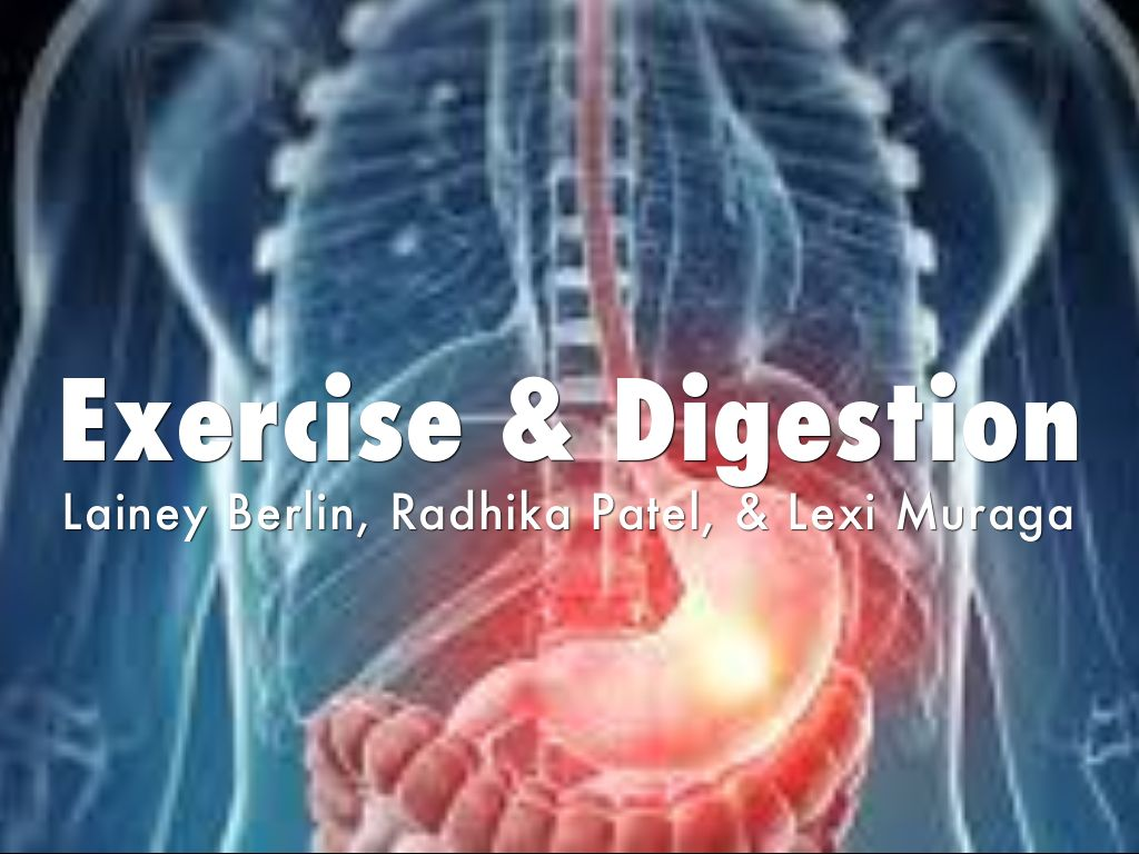 exercise digestive topic 2 Browse resource directory browse educational resources by subject and topic would you believe that your digestive system stretches to five times your height.