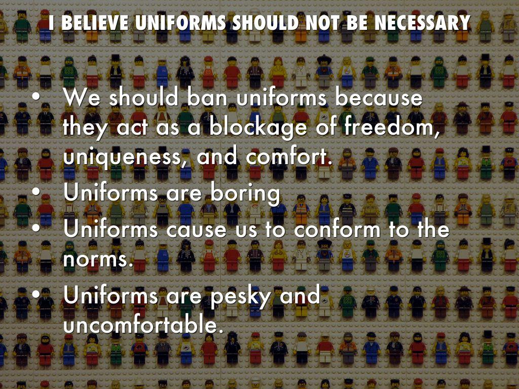 school uniforms are not necessary