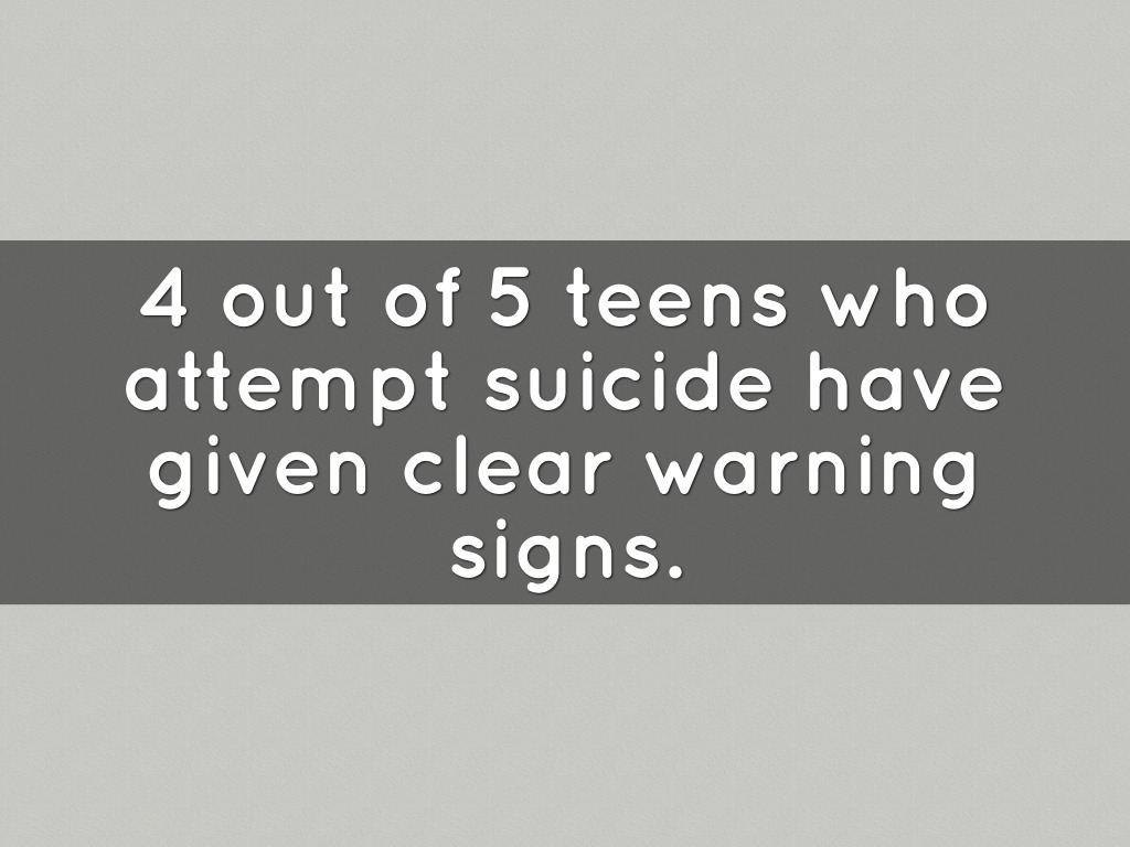 what drives teenagers to commit suicide Student suicides in hong kong signal distressing lack of mental health  to help students after sixth suicide  children commit suicide than die.