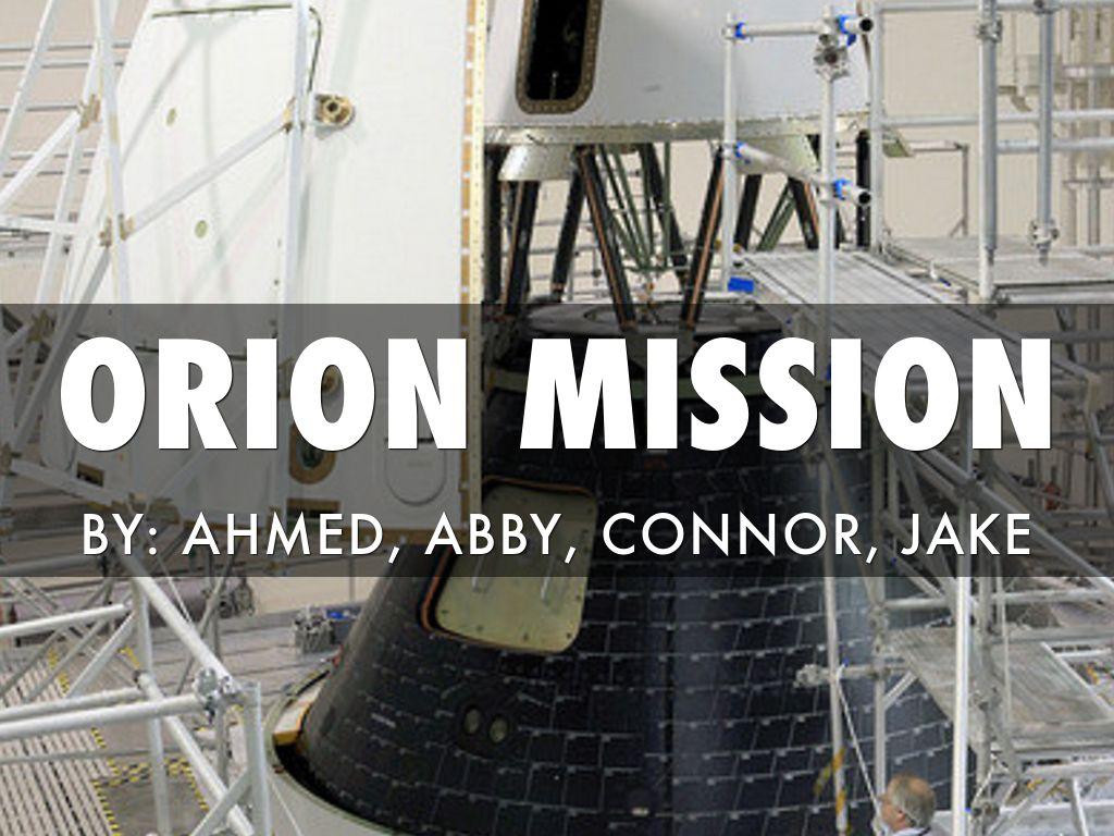 Orion Mission