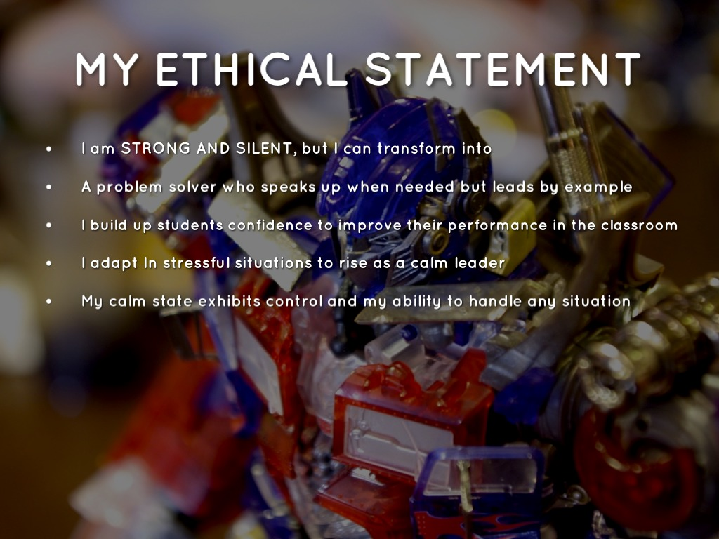 ethical statement The code of ethics for nurses with interpretive statements, updated in 2015, is the profession's non-negotiable ethical standard.