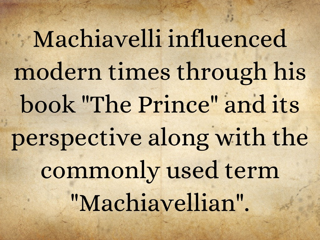 machiavellian thesis Online collection of free sample essays, sample term papers, sample research papers, sample thesis papers and sample dissertations on popular topics.