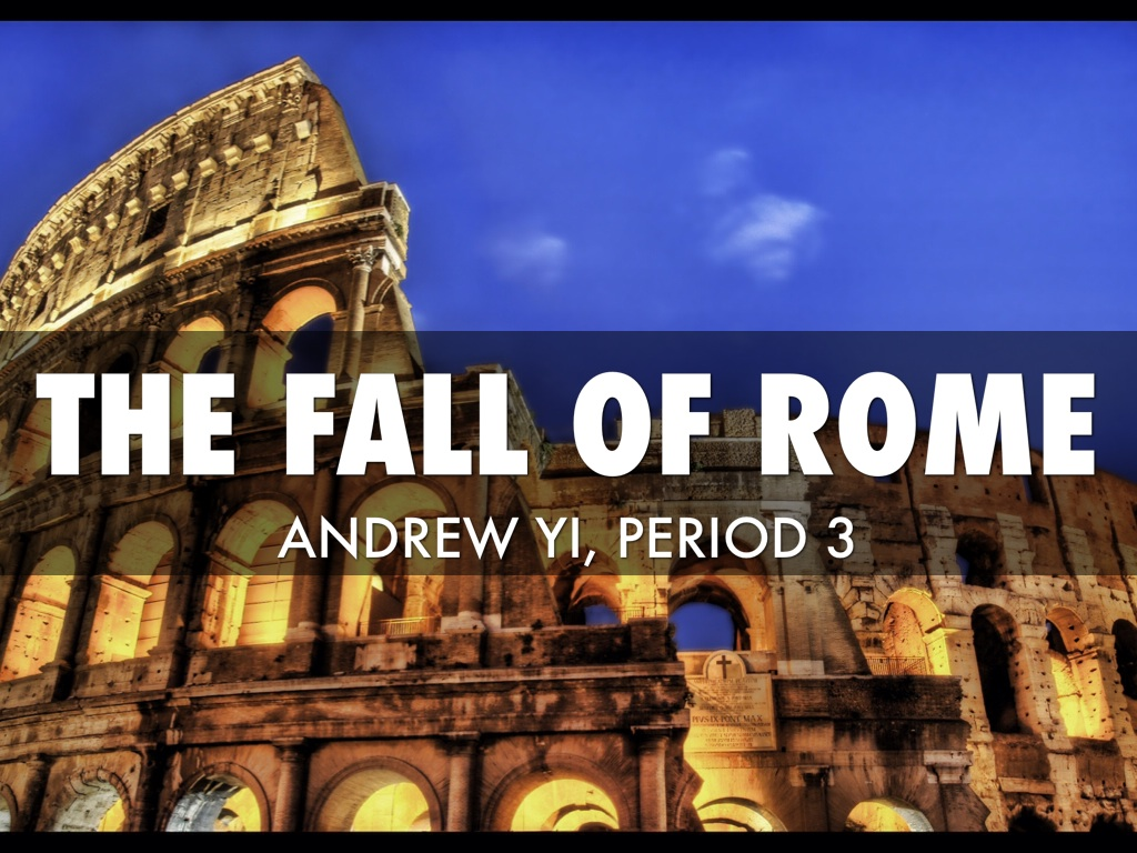 the fall of rome One of the great questions of western history, if not the great question, is why did rome fall reasonable answers to this most perplexing of history's puzzles—and there have been hundreds of answers advanced—begin with understanding the complex nature of late rome and the barbarian invasions in which the roman empire ultimately drowned.