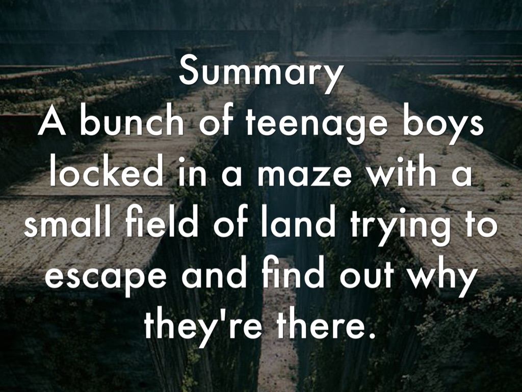 summary of book of maze of The maze runner (2014) on imdb: plot summary, synopsis, and more.