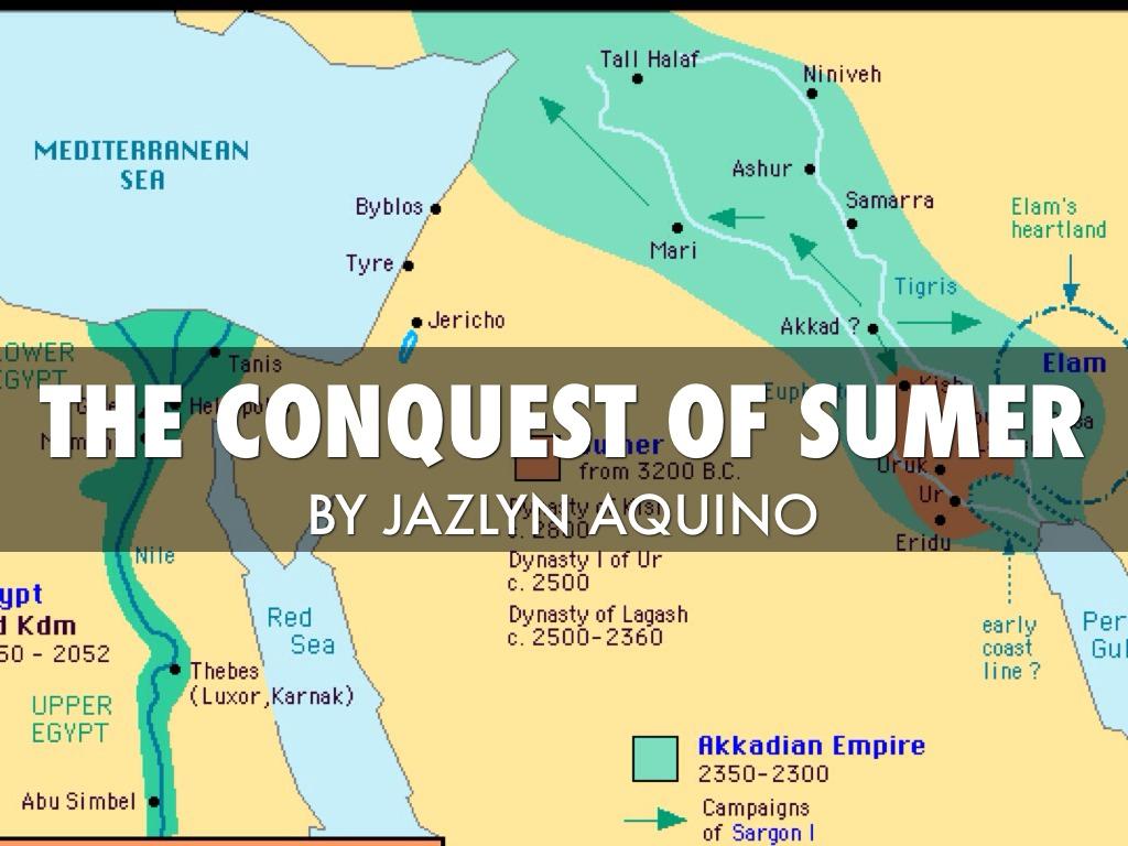 sumerian map