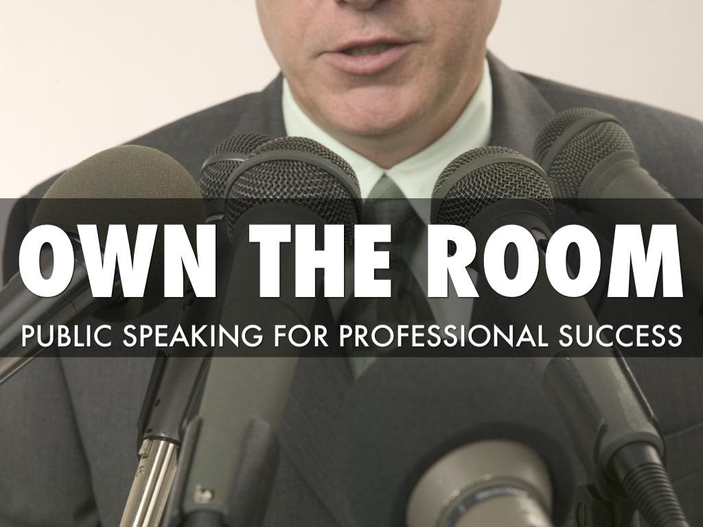 Public Speaking For Professionals