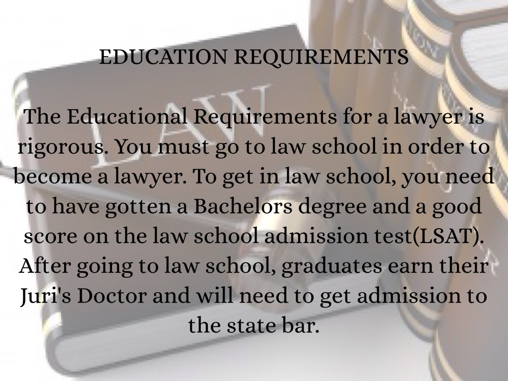 How Much Education Does A Lawyer Need Best 2018