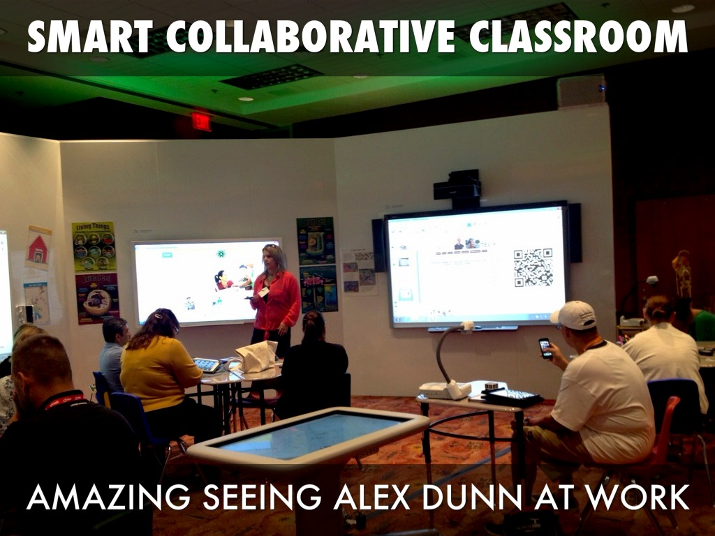 Collaborative Classroom Presentation ~ My iste newbie experience by rafranz davis