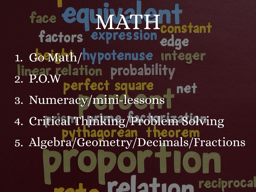 critical thinking in math Critical thinking skills impact every area of a child's academic experience students who can do math, but who don't understand why the math problem works out the way it does lack critical thinking skills.