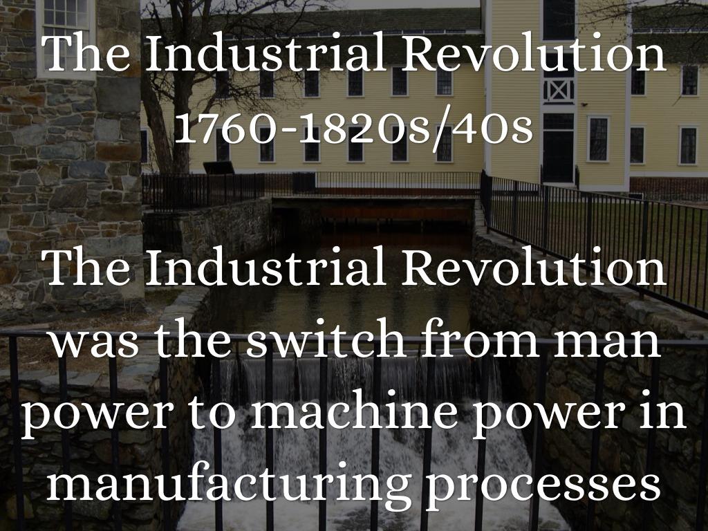 Industrial Revolution Timeline by Julie Madacki