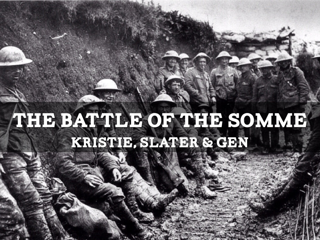 the battle of the somme gcse coursework assignment The battle of the somme started on july 1 st 1916 it lasted until november 1916 for many people, the battle of the somme was the battle that symbolised the horrors of warfare in world war one this one battle had a marked effect on overall casualty figures and seemed to epitomise the futility of trench warfare.