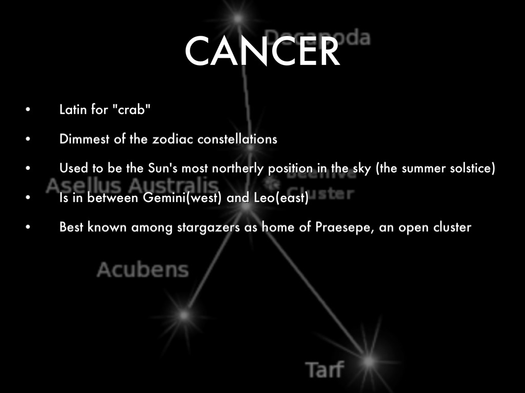 Most Cancers Constellation Tattoo