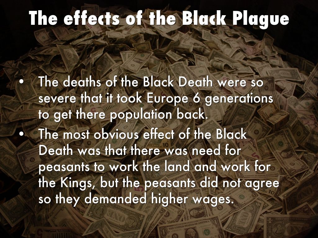 the significance of the black death The black death, also known as the black plague, great plague or simply plague the word plague had no special significance at this time.